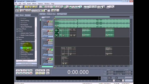Adobe Audition v1.5 3