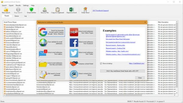 LetsExtract Email Studio Business 2