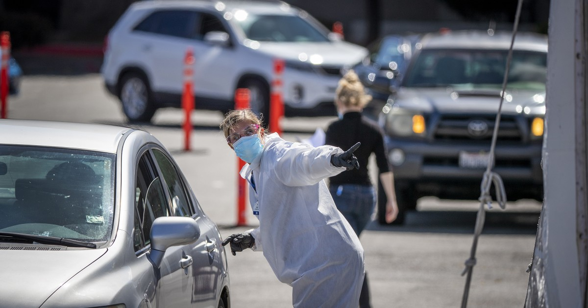 Coronavirus more prevalent in L.A. County, tests suggest – Los Angeles Times