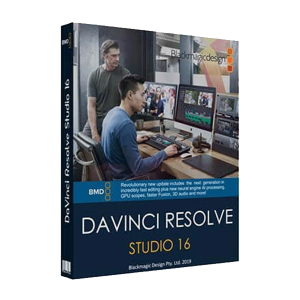 Blackmagic Design DaVinci Resolve Studio v16.1