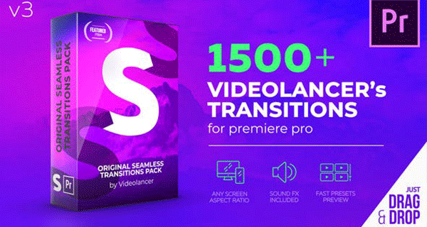 Videolancer's Transitions For Premiere Pro