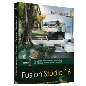 Blackmagic Design Fusion Studio v16.1