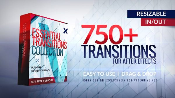 Ultimate Transitions Pack | 750+ Essential Modern Transitions