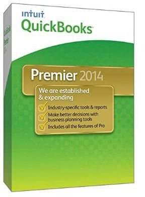 Intuit Quickbooks Premier 2014 Accounting Software